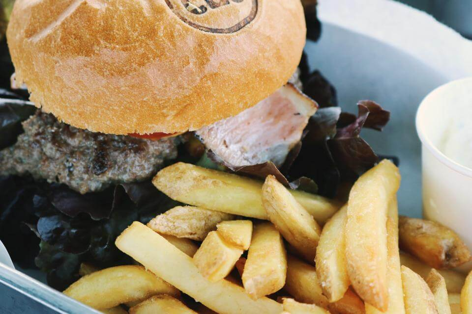 French Fries are also best with Burger. Try it.