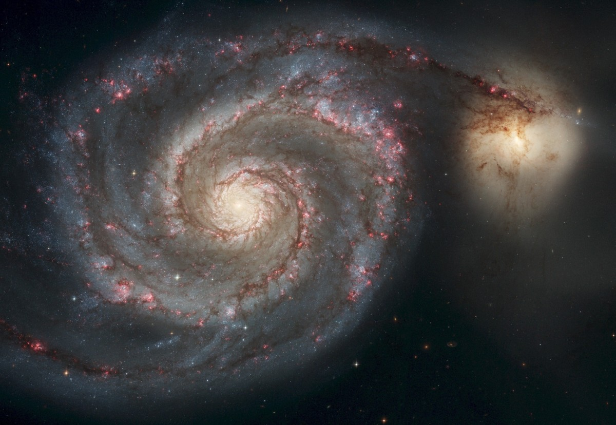 From Earth To the Milky Way Galaxy (new Version)